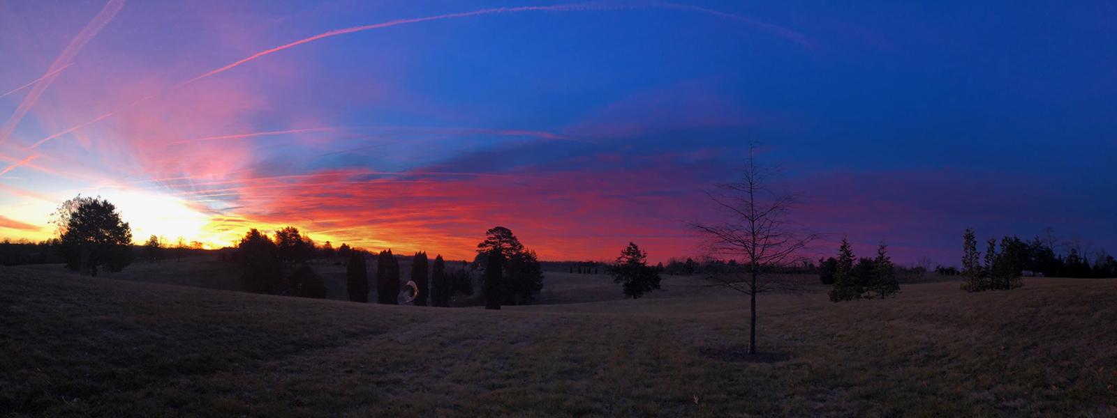 sunset over Ramiiisol