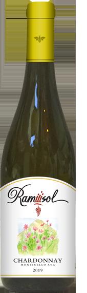Chardonnary 2019 bottle full