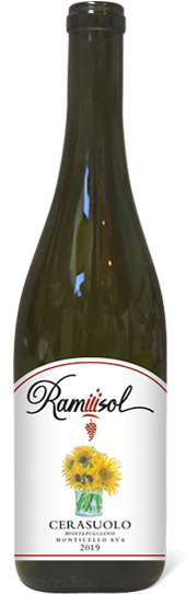 Cerasuolo 2019 bottle full